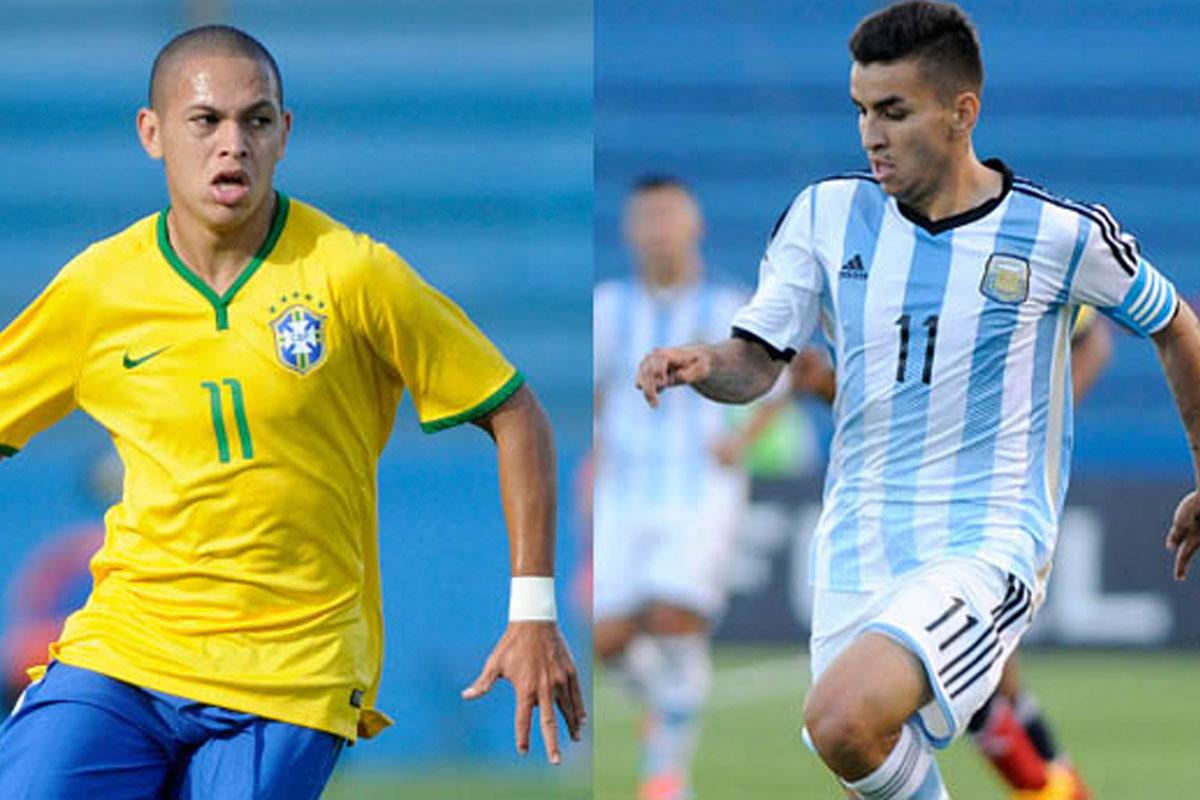 Brasil Vs Argentina Sub 20: Sudamericano Sub 20: Argentina Vs Brasil En Un Partido Clave