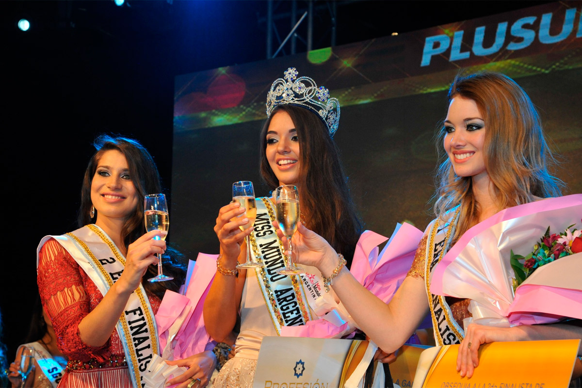 Artesanato Japones Passo A Passo ~ Una mendocina fue coronada Miss Mundo Argentina