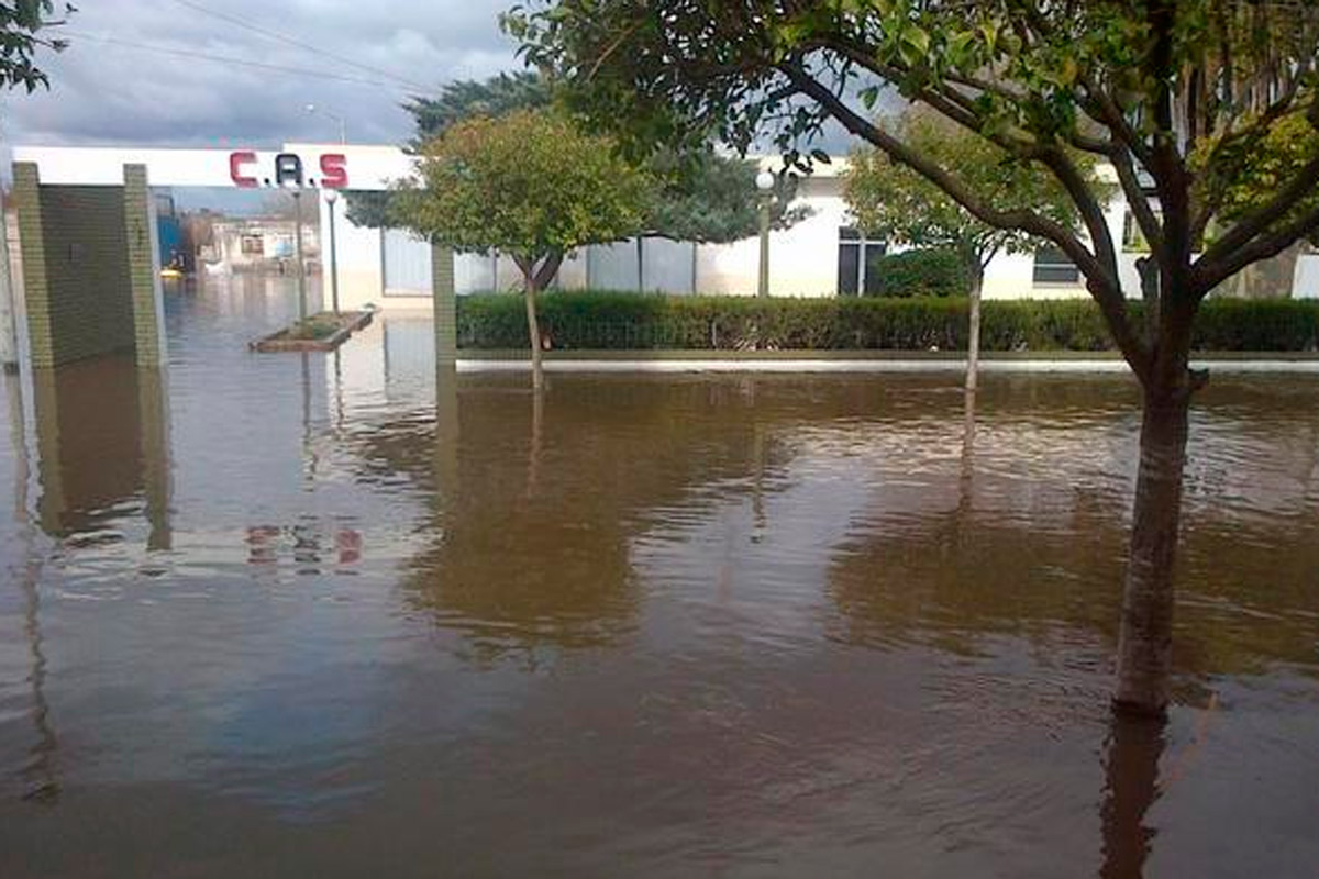 inundacion provincia santa fe: