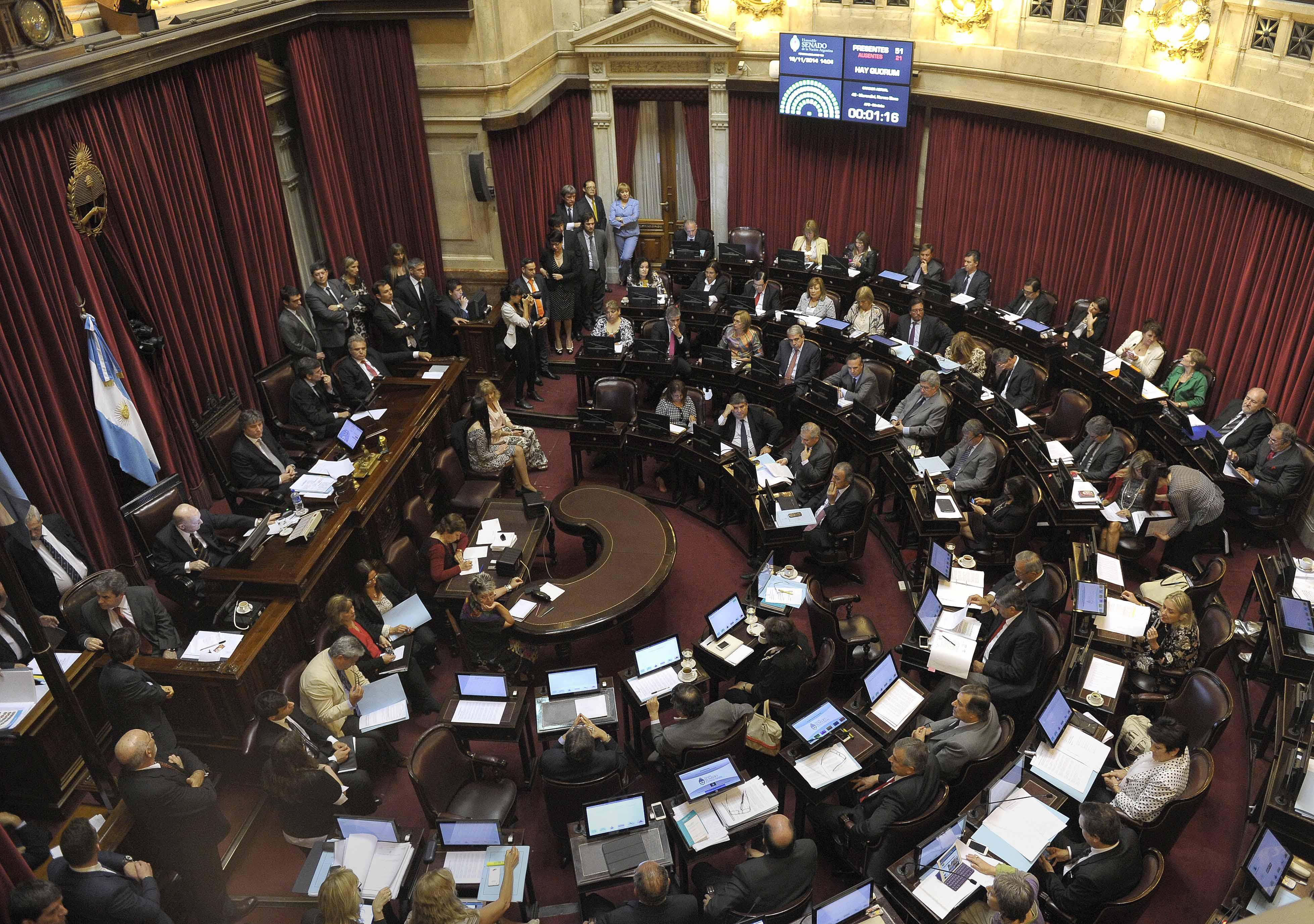 El senado tratar hoy la ley del presupuesto 2016 - Fotos de cenadores ...