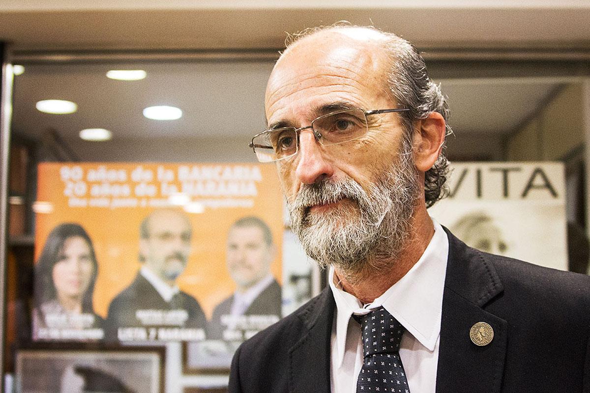 Matías Layús- Secretario General de la Asociación Bancaria de
