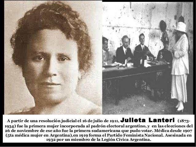 Resultado de imagen para Dra Julieta Lanteri.