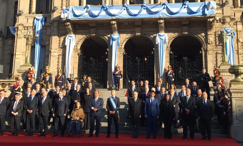 Resultado de imagen para bicentenario de la independencia argentina macri tucuman