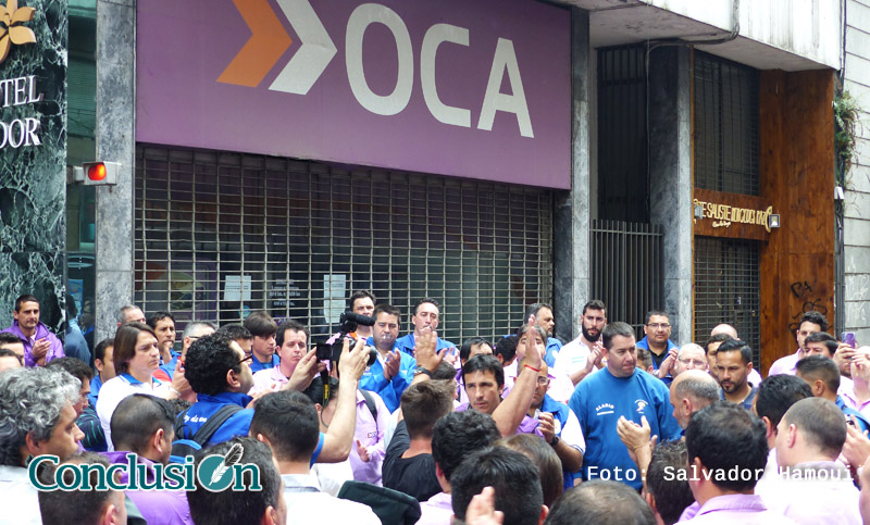 Entra a escopetazos a sucursal OCA Rosario