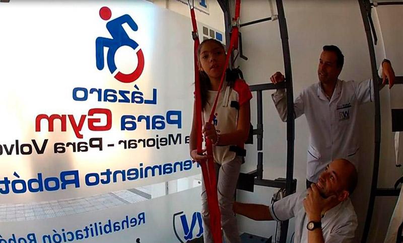 Argentina: Crean un rehabilitador robótico para personas con problemas de movilidad