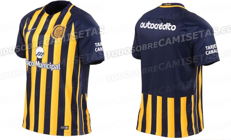 bofetada que te diviertas Sentido táctil  Se filtró la nueva camiseta de Rosario Central