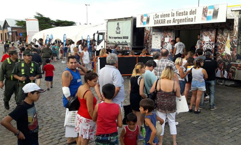 Rosario Disfrut De La Feria Dakar Y Ahora Espera Por La