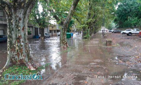 Lluvias en Rosario