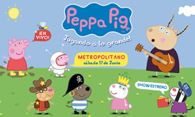 Peppa pig presenta su nuevo show para los m s chicos for Espectaculo peppa pig uruguay