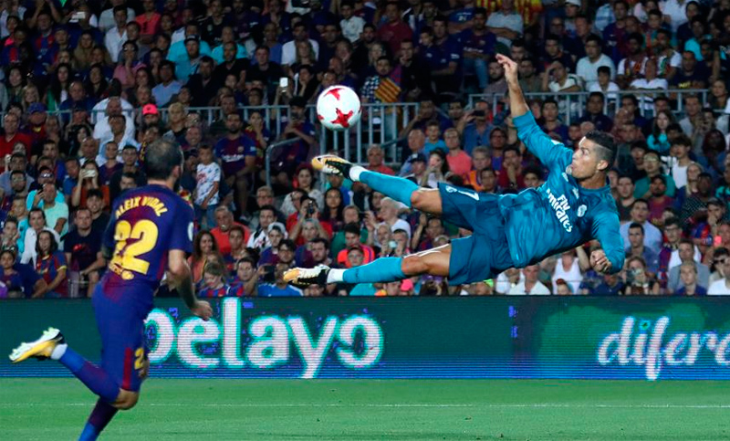 Real Madrid venció a Barcelona en la ida de la Supercopa de España 2592c140172e0