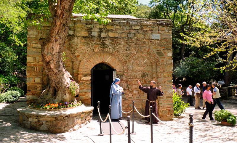 Resultado de imagen de Casa de María, en Éfeso,