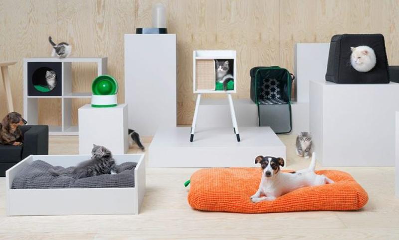 Lanzan una colecci n de muebles y accesorios para mascotas - Muebles para mascotas ...
