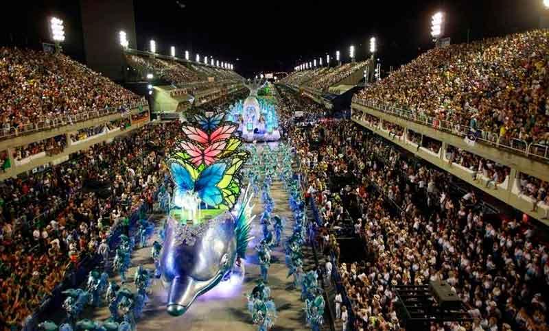 El Carnaval de Brasil, en el top de las preferencias de los
