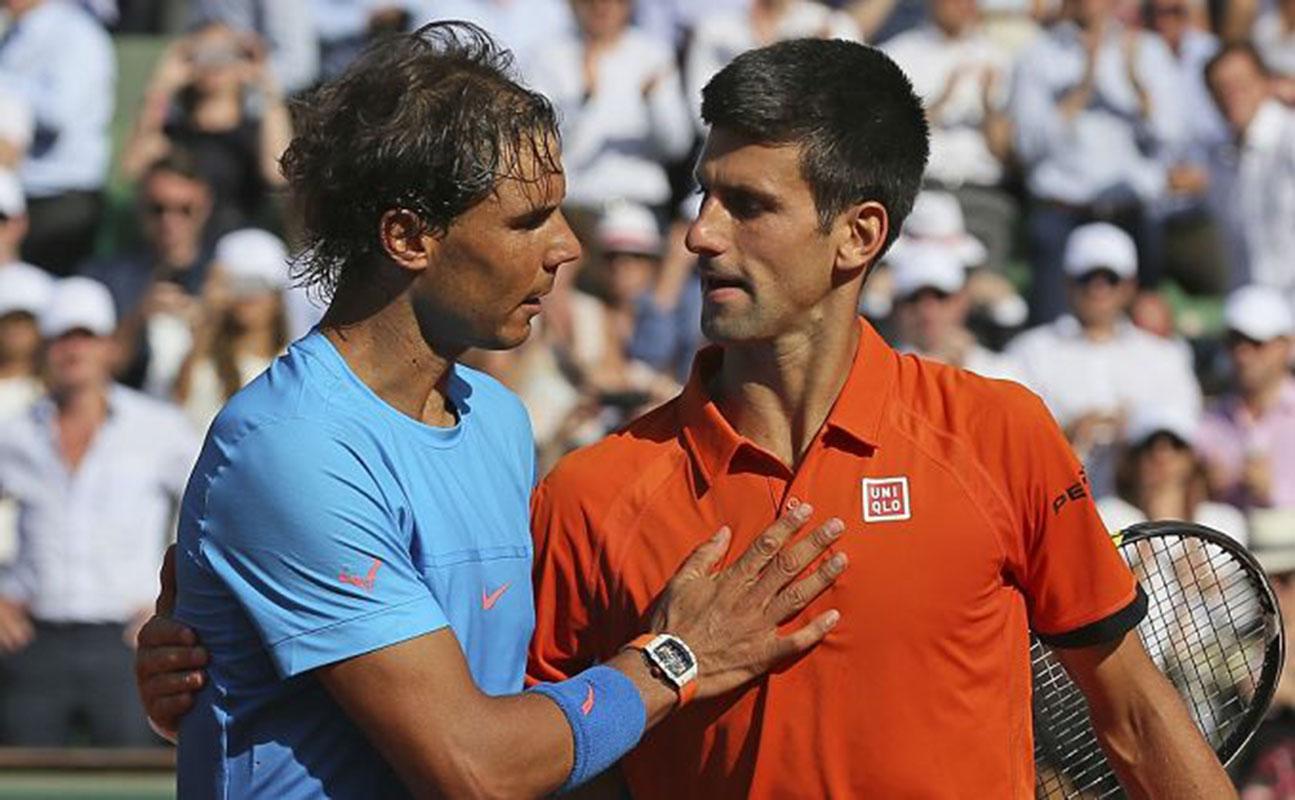 Resultado de imagen para nadal y Djokovic