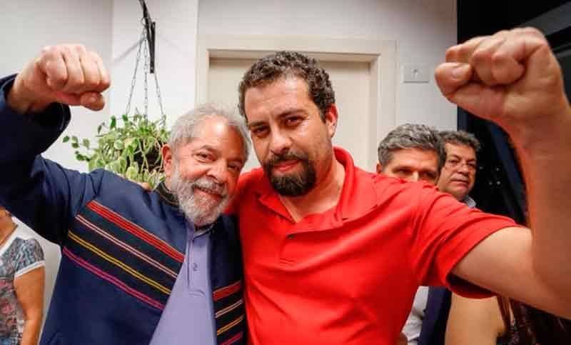 Boulos, el líder de los «sin techo» que quiere ser presidente de Brasil