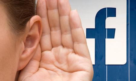 Facebook registra una nueva patente para grabar el sonido ambiente de nuestro teléfono.