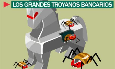 Los 3 Troyanos Bancarios más peligrosos. Estos son y así nos afectan.