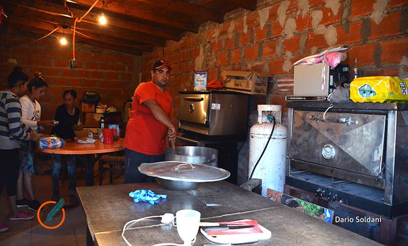Por la situación económica, los comedores barriales no dan abasto