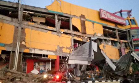 Sismo y tsunami en Indonesia