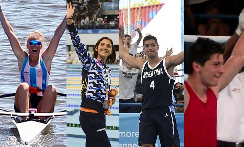 Argentina Cosecho 32 Medallas En Los Juegos De La Juventud
