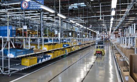 Producción industrial en baja