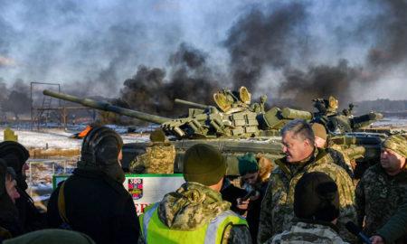 Petro Poroshenko realizó un pedido a la Otan