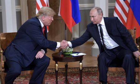 Donald Trump y Vladimie Putin G20