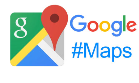 google maps hashtags