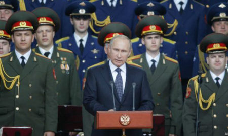 Putin carrera armamentista