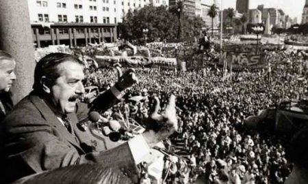 Un 10 de diciembre de 1983 asumía Raúl Alfonsín