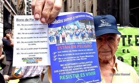 Contra el bono de Mauricio Macri