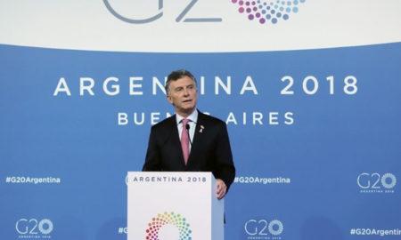 Macri hablará sobre el G20