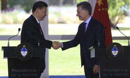 "Macri: ""Queremos seguir trabajando codo a codo"" con China"