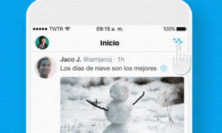 Twitter línea cronológica