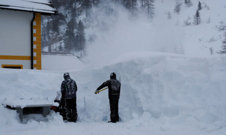 Avalancha de nieve en Austria