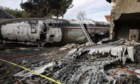 Tragedia aérea en Irán