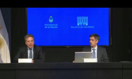 Conferencia de prensa Dujovne