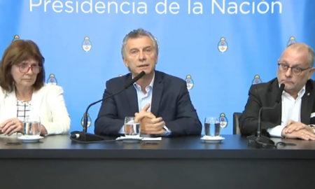 Conferencia de prensa Macri