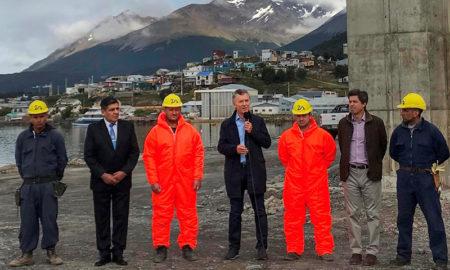 Macri visitó Ushuaia