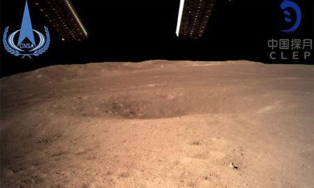 Chang'e-4, la sonda china, aterriza en el lado oscuro de la luna