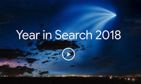Busquedas google en 2018