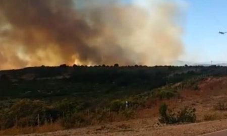 Fuego en Epuyén