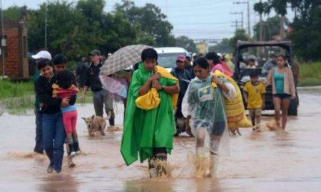 Bolivia bajo el agua
