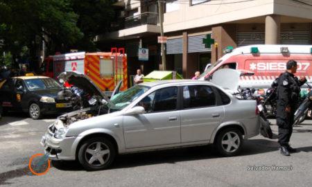 Choque en Rosario