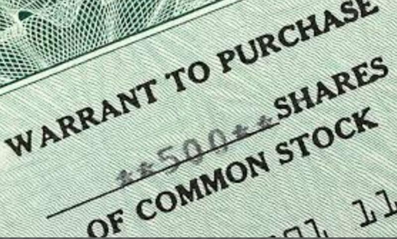 Certificado Warrants