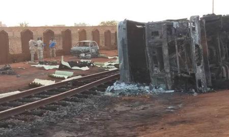 Explotó un camión cisterna en Níger y ocasionó 55 muertes