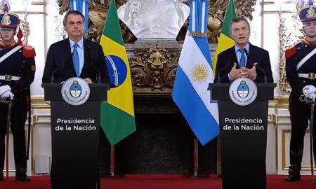 """Bolsonaro con Macri: """"Tenemos prácticamente los mismos ideales"""""""