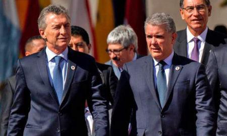 Macri recibirá el domingo al presidente de Colombia, Iván Duque