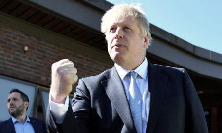 Johnson, elegido líder de los conservadores y sucesor de Theresa May en el gobierno británico