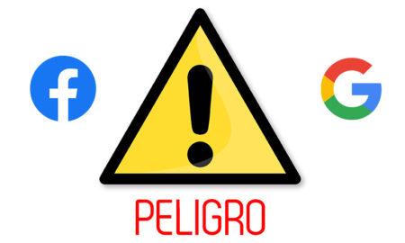 amnistía contra google y facebook